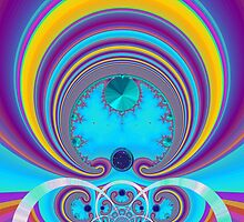 This Magic Moment fractal by Wendy J. St. Christopher