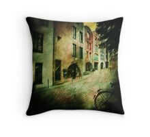 Awaiting another day of trading in the Schnoor Throw Pillow