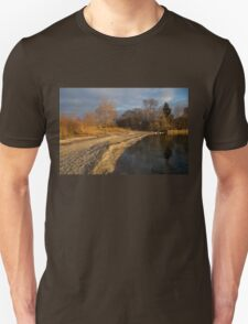 Early Light on the Beach Unisex T-Shirt