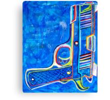 """""""THE GUN - VERSION 1.0"""" Canvas Print"""