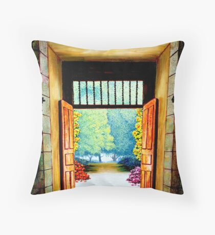 Spanish Art. Throw Pillow