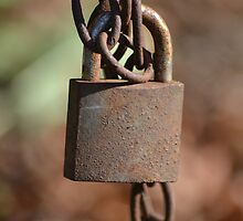 Its all under lock and key by Cheyenne Bailey