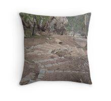 Winter Climb to Flinders Peak, You Yangs Throw Pillow