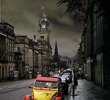 The Auld Alliance, Edinburgh, Scotland by Benjamin Laird