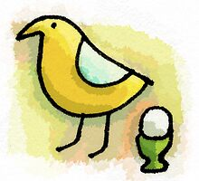 Egg cup by nellbell