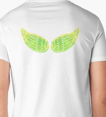 Watercolor wings Mens V-Neck T-Shirt