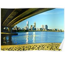 City skyline - Perth, WA Poster