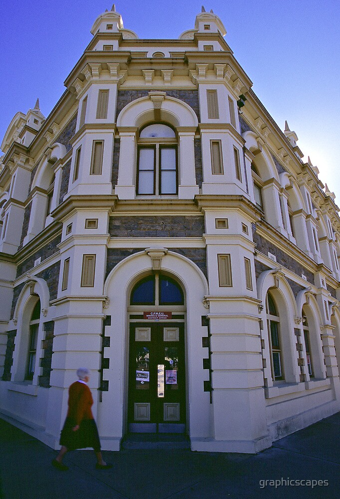Historic Trades Hall - Broken Hill, NSW by graphicscapes