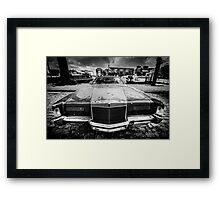 Old American car Framed Print