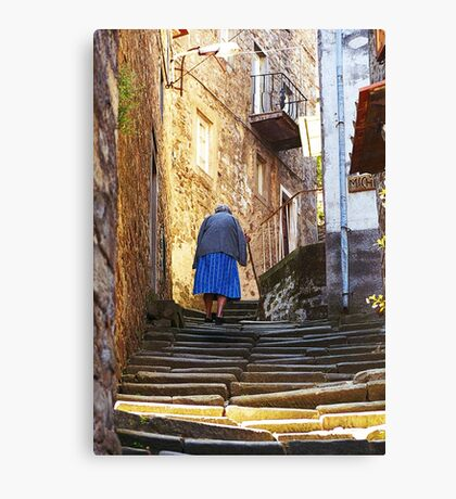 Steps In Time Canvas Print
