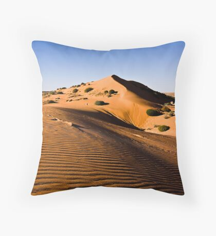 Red Sand Dune near Big Red Throw Pillow