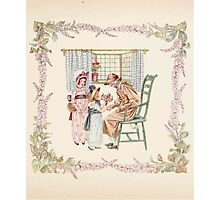 Mrs Leicester's School Charles & Mary Lamb with Minifred Green 18xx 0055 Praise Photographic Print