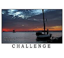 Challenge Photographic Print
