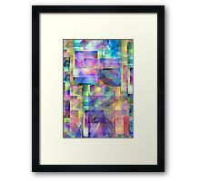 Abstract Composition #1 — April 9, 2010 Framed Print