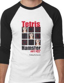 Pudding The Hamster - Tetris Men's Baseball ¾ T-Shirt