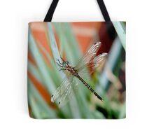 Dragonfly on Shallots 2 Tote Bag