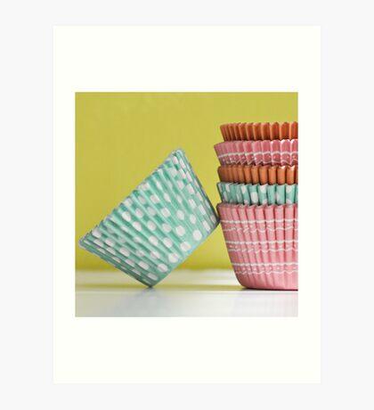 Cupcake Liner Art Print