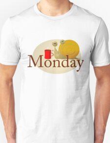 Monday Snail Unisex T-Shirt