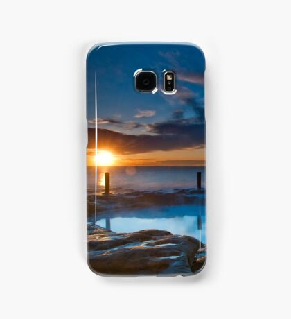 Sunrise over Rockpool, Coogee Samsung Galaxy Case/Skin