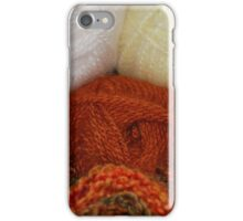 Autumn Skeins iPhone Case/Skin