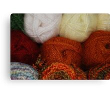 Autumn Skeins Canvas Print