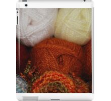 Autumn Skeins iPad Case/Skin