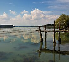 Lake Trasimeno by Blagnys