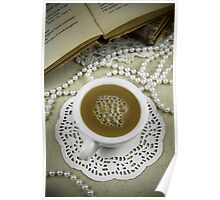 Coffee charm Poster
