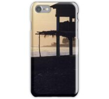 Sunset on a Beach in El Salvador iPhone Case/Skin