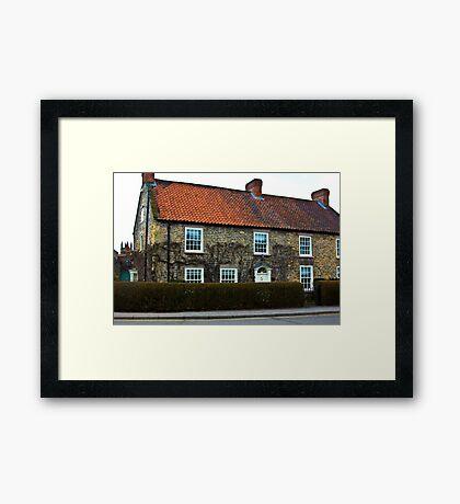Helmsley Cottages #2 Framed Print