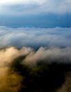 Storm cloud layers. by Rudi Venter