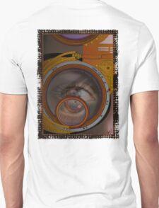 eye as a lens - steampunk variations Unisex T-Shirt