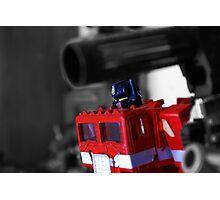 Optimus re-animated Photographic Print