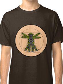 Vitruvian Bulldozer Classic T-Shirt