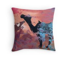 Love of camels  Throw Pillow