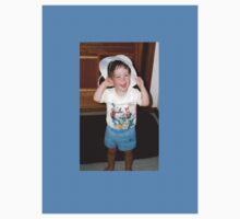 boy in girls hat by alicecamel24