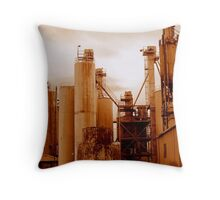 Industrial  Consumption Throw Pillow