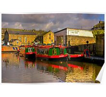 Jack,Rosie & Jim (Canal Basin) - Skipton Poster