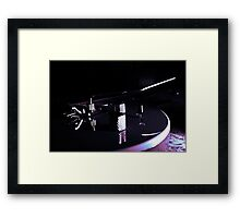 Peavey with a cooling filter Framed Print