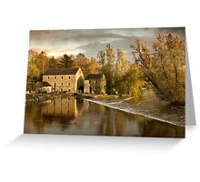 The Weir at Kells, Co. Kilkenny Greeting Card