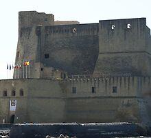 Castel Dell'Ovo, Bay of Naples by BronReid