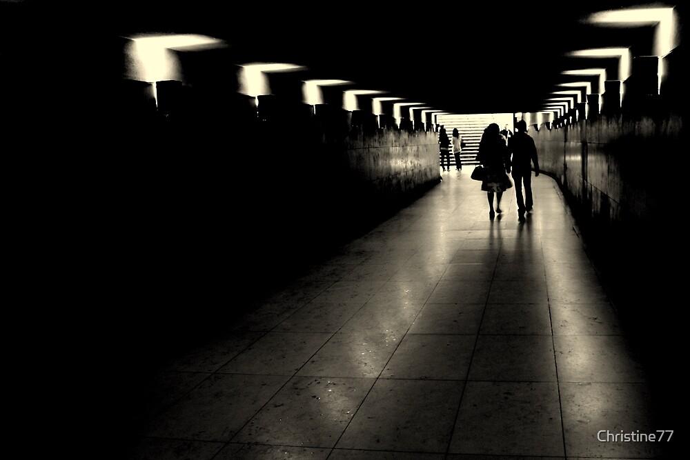 Parisien tunnel vision by Christine Oakley