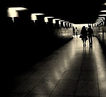 Parisien tunnel vision by Christine Oakley