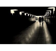 Parisien tunnel vision Photographic Print
