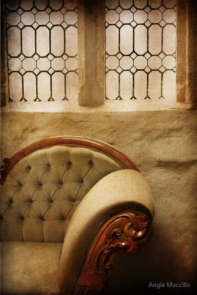 Chaise  by Angie Muccillo