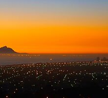 Falsebay sunset. by Rudi Venter