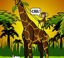 Cha Giraffe  by alford