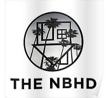 The Neighbourhood Palm Tree Print The NBHD Band Shirt Poster
