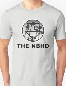 The Neighbourhood Palm Tree Print The NBHD Band Shirt Unisex T-Shirt