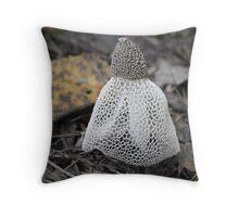 crinoline stinkhorn - north queensland Throw Pillow